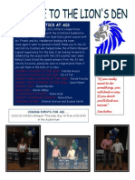 May 5 Athletic Newsletter