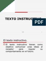EL  INSTRUCTIVO