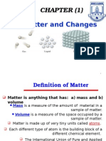 CHAPTER (1)_Matter and Changes