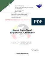 Trabajo Derecho Procesal Penal.doc