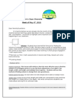 mr swains newsletter week of may 4 2015