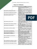 MOS - Vs 2.0 - Anexo II - Regras de Validação