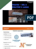 Psykiatri - Del 2 - Organisation & Lagar