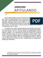 Recapitulando - PED - Alfabetizacao e Letramento - Cap7.pdf