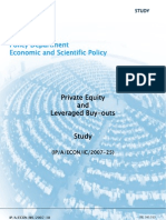 Private Equity and Leveraged Buyouts Study - European Parliament Nov-2007