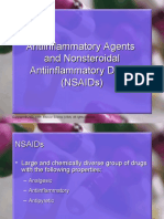 Antiinflamma and NSAIDs