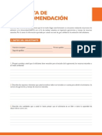 Carta Earth Español