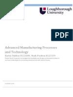 14mmc600 advanced manufacturing coursework kh mp
