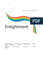 Enlightment Business Plan 2013