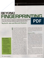 Beyond Fingerprinting Sciam 08