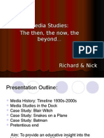 History Media Studies