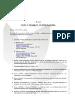 Anexo 5 Informativo de Homologacion de Proveedores