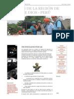 Maderas de La Región de Madre de Dios - Perú_ Propiedades Físicas