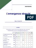 Sbarchi migranti, sondaggio Panorama, aprile 2015