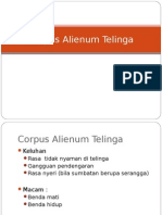 Tht - Corpus Alienum Telinga