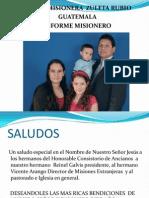 Inf Mis Guatemala Enero de 2010