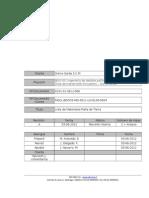 MQCL BOO03 IND 6511 LIS EL00 0004_A Lista de Materiales Malla de Tierra