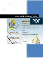 Manual Proexcel 2014 Completo