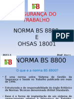 Normas Bs 8800 Ohsas 18.001