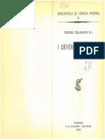Tollemache 1954 - I deverbali Italiani