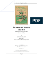 (BSA) Sparrow, Kenneth C. - Surveying & Mapping Simplified (1941)