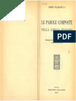 Tollemache 1945 - Le parole composte nella lingua italiana