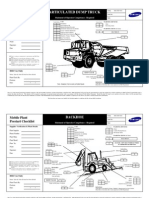 Heavy Equipment Inspection Checklist