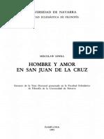 Hombre y Amor en San Juan de La Cruz