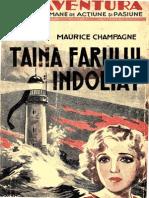 009 Maurice Champagne - Taina Farului Îndoliat [1937]-An