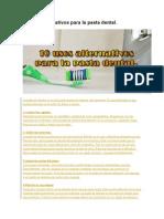 10 Usos Alternativos Para La Pasta Dental