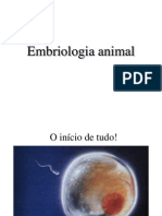 1a - Embriologia Animal - 2015