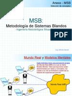 Msb Metodologia de Los Sitemas Blandos