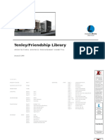 J.4 Tenley Library Architectural Graphics Specifications