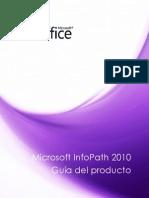 Microsoft InfoPath 2010 - Guía Del Producto