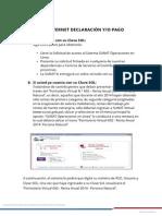 Medios de Declaracion y Pago