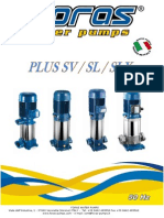 manuales bombas PLUS SV-SL-SLX