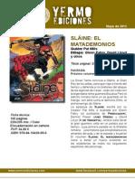 Yermo Ediciones Novedades Mayo 2015