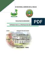 Introduccion a La Propagacion de Plantas (Mani)