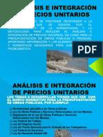 1 Análisis e Integración de Precios Unitarios-1