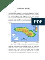 Geologi Pulau Sumba