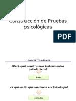 Construcción de Instrumentos de Medicion en Psicologia Psicológicos