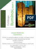 Catalogo iluminación hechoverde 2015
