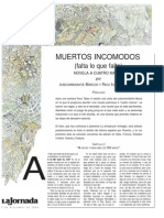 Subcomandante Marcos & Taibo II - Muertos Incómodos. Capitulo 1 y 2