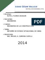 Informe de Obra 1