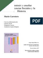 Construir y enseñar las ciencias sociales y la historia