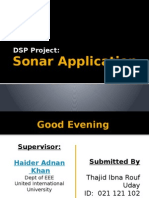 DSP project Sonar presentation