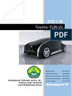 Toyota Fun Vii-Futuristic Interactive Car