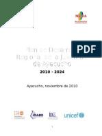Plan de Desarrollo Regional de La Juventud de Ayacucho 2010-2024
