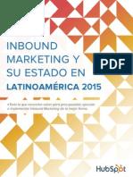 SPANISH-Estado Inbound Marketing Latinoamerica 2015 - 2016