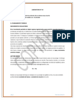 LABORATORIO 03-Determina el periodo de oscilación de un sistema masa resorte